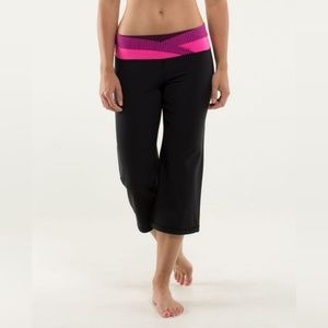 Lululemon Dharana Crop Black